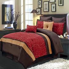 red bedroom sets 12 piece atlantis red comforter set elegantlinensanddecor com