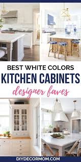 best white paint for cabinets best kitchen cabinet colors for your kitchen reno