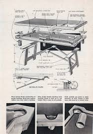 pool table blueprints plans diy free download diy toy box bench