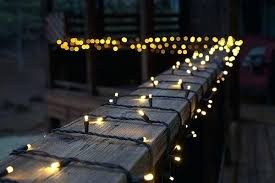awesome deck lighting ideas and wrap white mini lights around the
