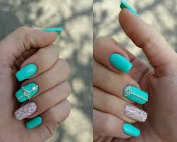 two colored bright nails the best images bestartnails com