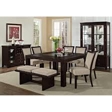value city furniture dining room tables value city furniture dining room sets contemporary brown lacquer