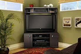 mirrored tv armoire corner entertainment center for flat screen