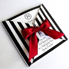 Red And Black Wedding Invitations Black And White Striped Wedding Invitations Reduxsquad Com