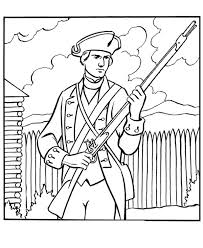 coloring pages fancy revolutionary war coloring pages kim6gdrij