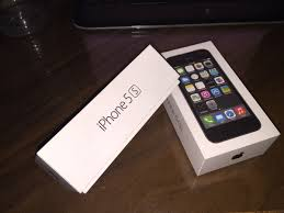 Famosos 01 Caixa Original Vazia Do Apple Iphone 5s Space Gray 16gb - R$ 60  &UY81