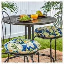 Blue Bistro Chairs Outdoor Bistro Chair Cushion Set Marlow Greendale Home