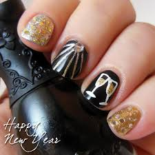 New Year S Day Decoration Ideas by Nail Art For New Years U2013 Slybury Com