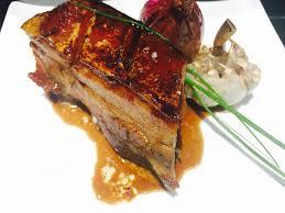 cuisiner poitrine de porc poitrine de porc cuite à basse température papilles pépites