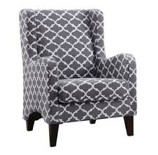 Gray And White Accent Chair Accent Chairs Sacramento Rancho Cordova Roseville California