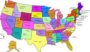 map of the state of usa united states map nations project us map collections for