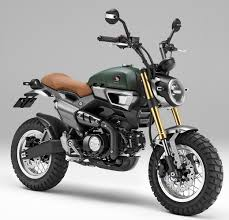 custom 2016 honda grom scrambler concept one u0026 two motorcycle