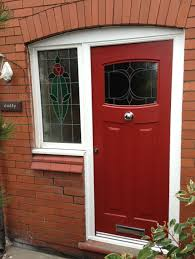door with frosted glass exterior design good red entrance composite door with frosted