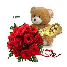 teddy gram delivery send flowers to bulgaria with e cvete delivery of bouquet of