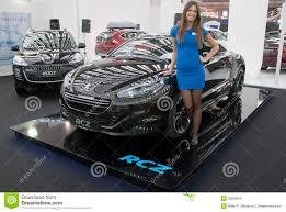 peugeot car dealership car peugeot rcz editorial image image 30080950