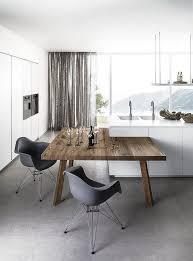 ilot cuisine avec table