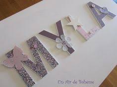 lettre decorative pour chambre b prenom lettres bois poetiques mila theme liberty et pois sur