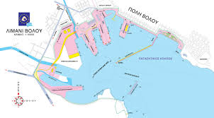 volos map the port of volos alexiadis shipping agency