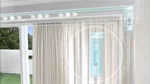 Pulley Curtain Systems Remote Control Electric Curtain System Remote Control Electric