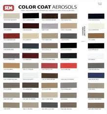 amazon com sem colorcoat color chart automotive