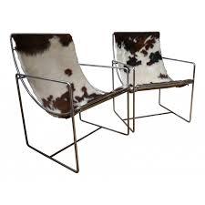 canap es 70 chaise peau de vache paire fauteuils en es 70 design market 14