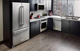 kitchenaid cabinet depth refrigerator kitchenaid krfc300ess review 36 inch counter depth french door