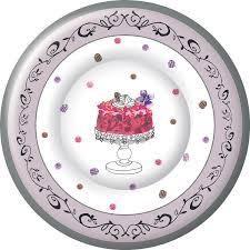 ihr fancy cake birthday celebration designer printed paper salad