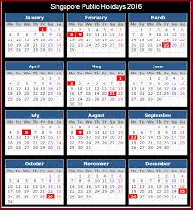 Kalender 2018 Hari Raya Idul Fitri 2016 Singapore Holidays Calendar