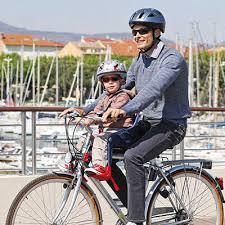 vélo avec siège bébé ok baby siège enfant avec fixation sur cadre avant