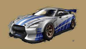 nissan skyline fast and furious 6 2 fast 2 furious r35 by spoonboy on deviantart