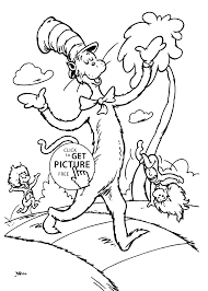 free dr seuss printable coloring activity sheets dr seuss cat and