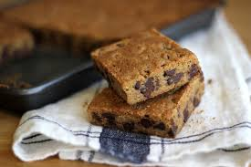 jenny steffens hobick chocolate chip blondies the barefoot