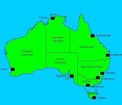 major cities of australia map cities in australia map major tourist attractions maps