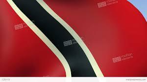 Flag For Trinidad And Tobago Flag Of Trinidad And Tobago Stock Animation 1239119