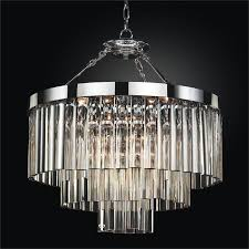 contemporary pendant chandelier with optic crystal wind chime