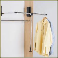 diy pull down closet rod home design ideas