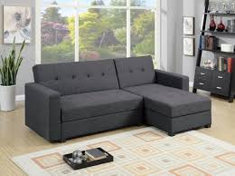 Chaise Lounge Sectional Sofa by F7896 Gray Reversible Chaise Sectional Sofa By Poundex