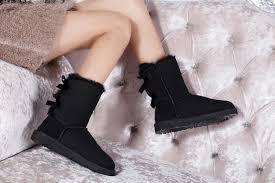 ugg bailey bow black sale ugg bailey bow black 3280 boots s fashion