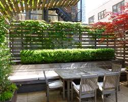 White Modern Outdoor Furniture by Decorating Modern Patio With Large Outdoor Planter Boxes And