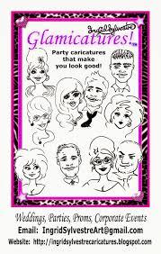 ingrid sylvestre wedding entertainment silhouettes u0026 caricatures