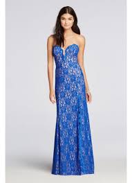 sweetheart neckline all over lace prom dress david u0027s bridal