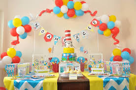 dr seuss party decorations kara s party ideas colorful dr seuss birthday party via kara s