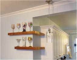 Kitchen Shelves Instead Of Cabinets Corner Shelf Kitchen Home Design Ideas