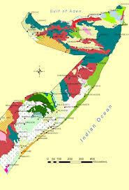 Map Of Somalia Land Use Fao Swalim