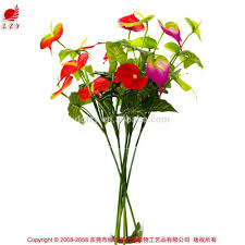 Artificial Flowers For Home Decoration Anthurium Artificial Flowers Anthurium Artificial Flowers