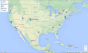 Puerto Rico On World Map Blue Horizon