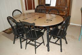 furniture how to refinish a table oval dining room table plus