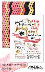 unique graduation announcements best 25 unique graduation invitations ideas on