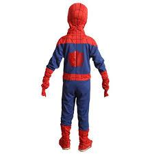 complete child boy marvel classic ultimate spiderman halloween