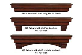 Mantel Shelf Designs Wood by No 495 The Auburn Shelf Mantels Of Yesteryear